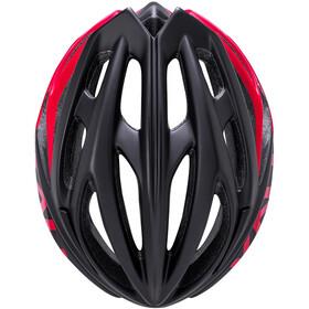 Kali Loka Kask rowerowy, black/red
